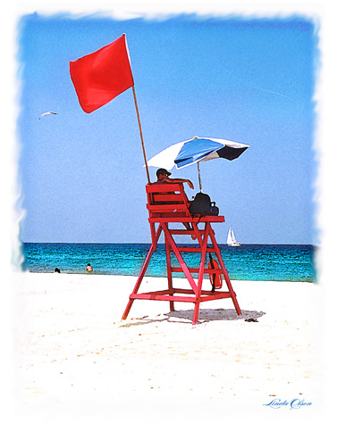 beach lifeguard chair 1