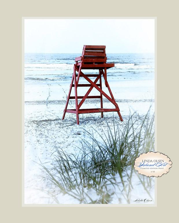 Lifeguard chair tracks