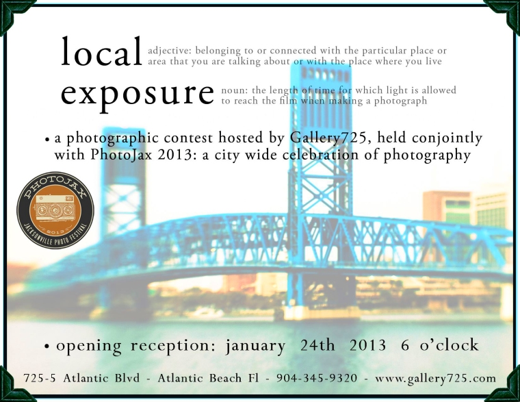 I will be there at the opening tonight. There will be some fantastic photographic art at this show at Gallery 725. I have 3 large pieces in the show.