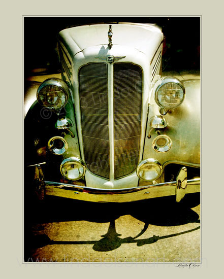 I have a dozen photo illustrations of vintage automobiles for sale. Email me for special prices on these limited edition prints. Many are printed on a beautiful metallic paper.