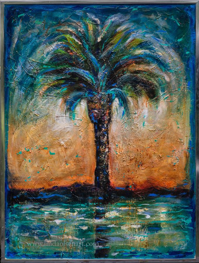 Final Varnish Acrylic Painting