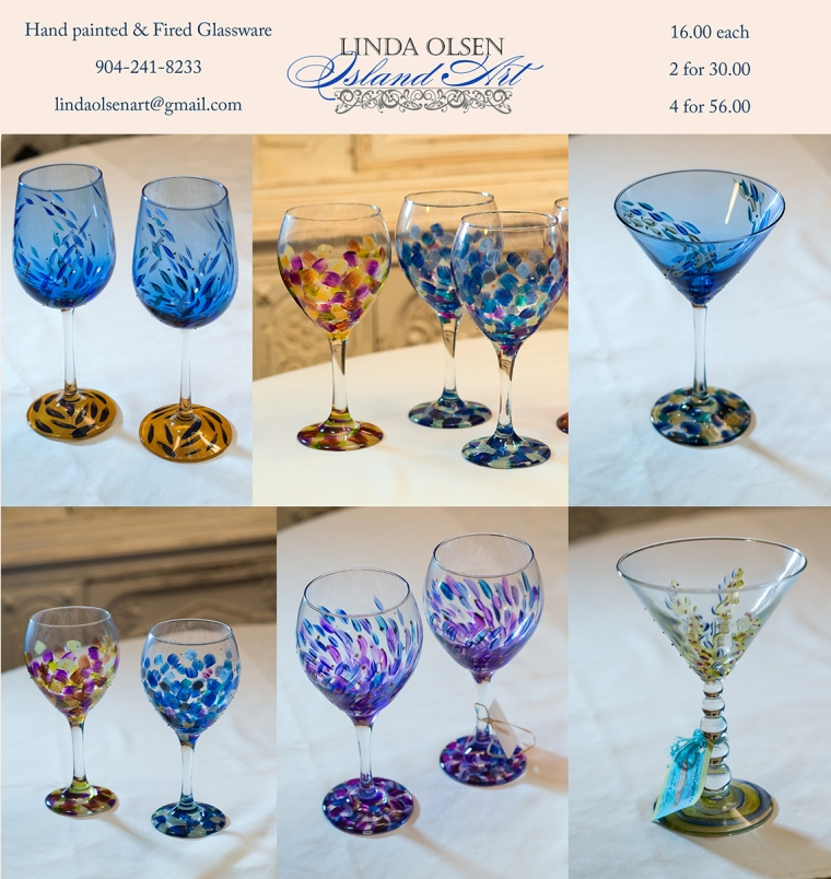 I have been painting glass for the last ten years for shows and galleries. Recently I did several commissions and since it takes a week to complete usually, I made extras that are for sale directly. Contact me if interested. They  make a great gift and are affordable.
