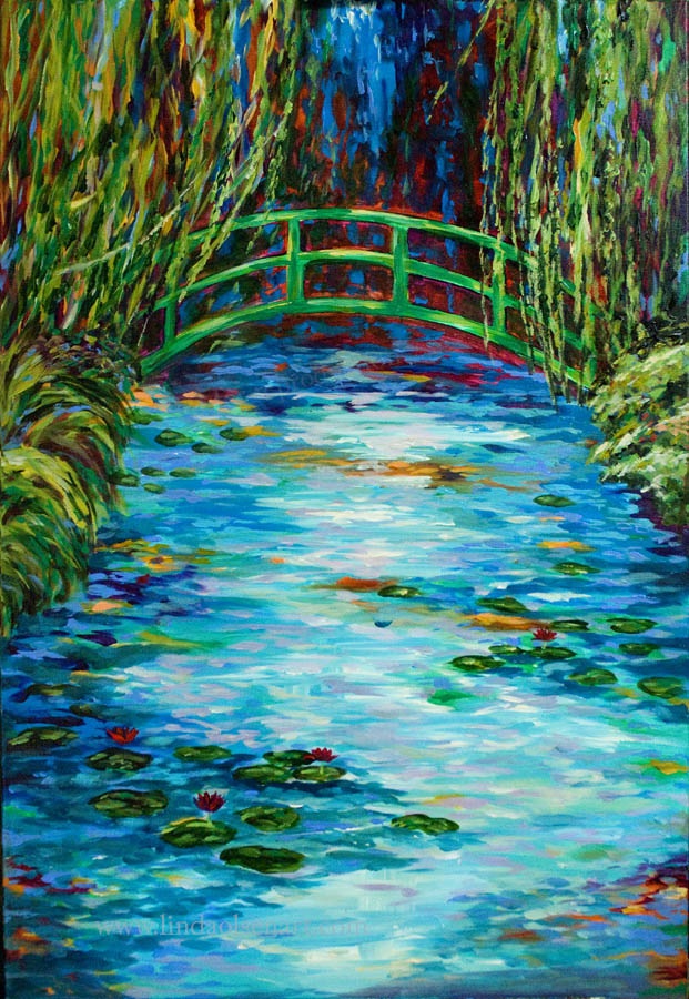 Monet's Garden in Giverny24x36