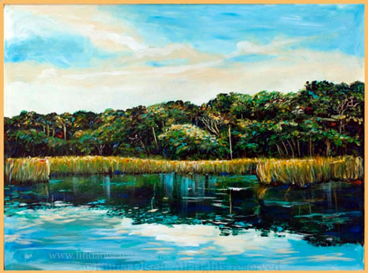 ST. Johns River 31x22