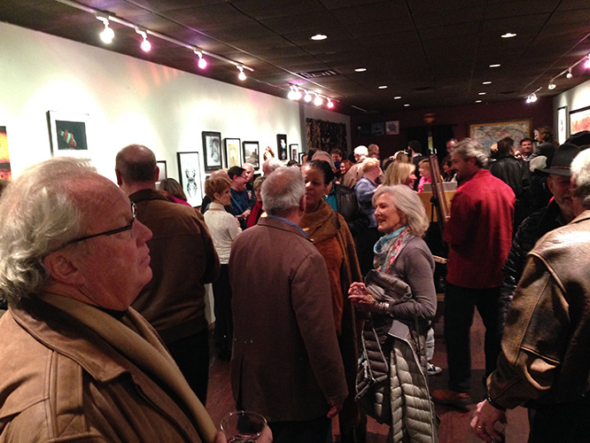 Friday night in ATlantic Beach was the opening of the LOCAL EXPOSURE juried photography show. It was really packed for hours. The quality of works very very impressive and worth the trip to the gallery next month.