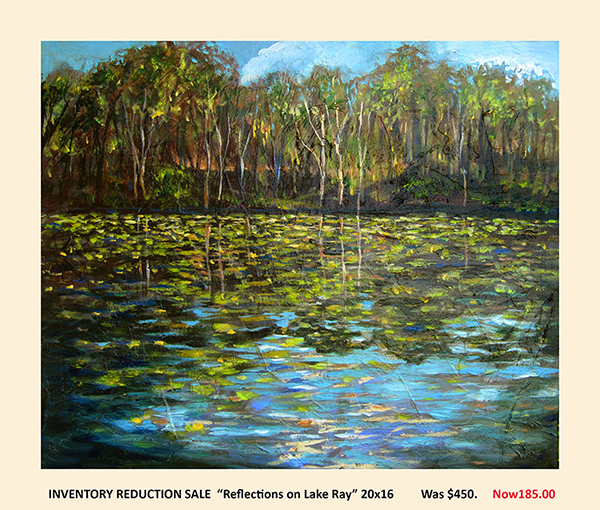 reflections on Lake20x16sale