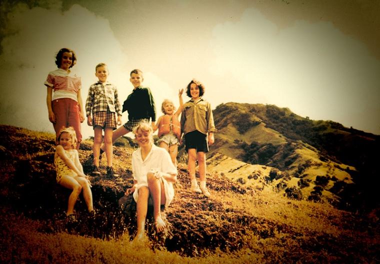 Family on Catalina