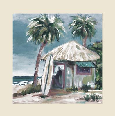 Island Surf Shack illust