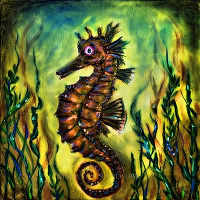 Seahorse curl ll