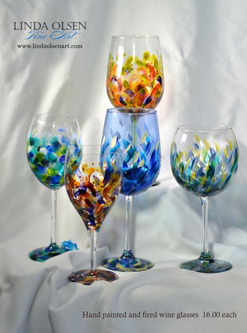 variety painted wine