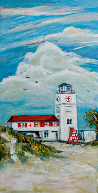 Jax Lifeguard Station orig 18x36