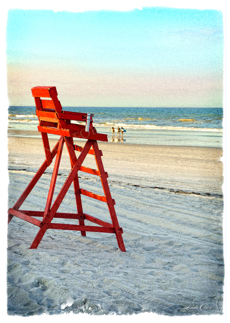 Lifeguard Chair 10x14
