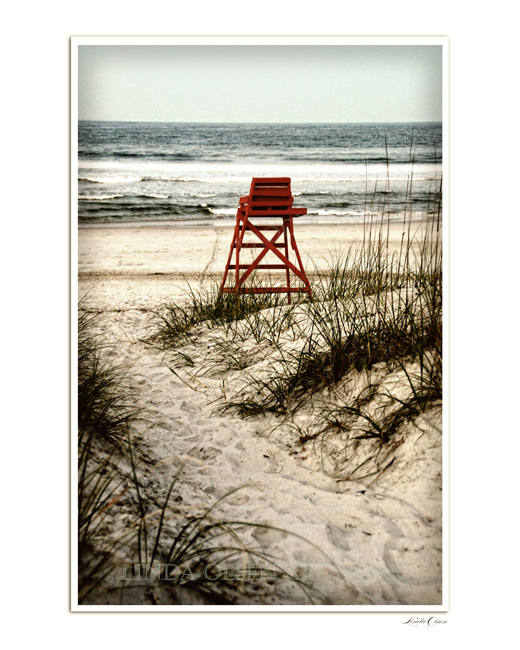 Lifeguard Chair Resting sep