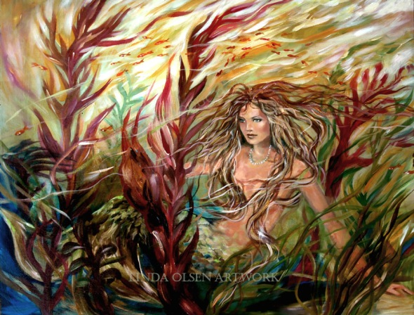 Seaweed Mermaid SOLD