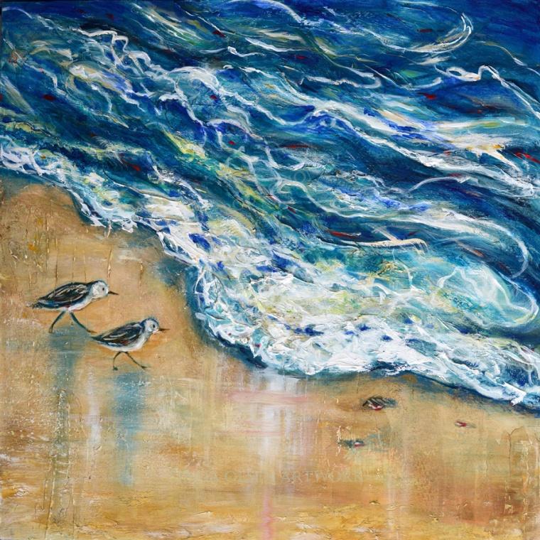 Tide Receeding 36x36x2