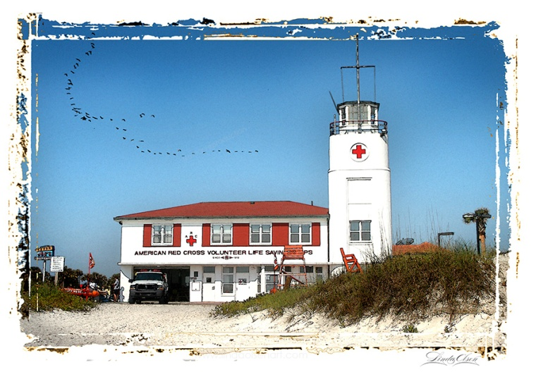 The Beaches Historical Lifeguard group are having a fund raiser and awards banquet in a week and purchased several art prints from me to be framed with plaques for awards. They are celebrating a local lifeguard building that was built a hundred years ago by the American Red Cross and is still in use as Jacksonville Beach Lifeguard station.