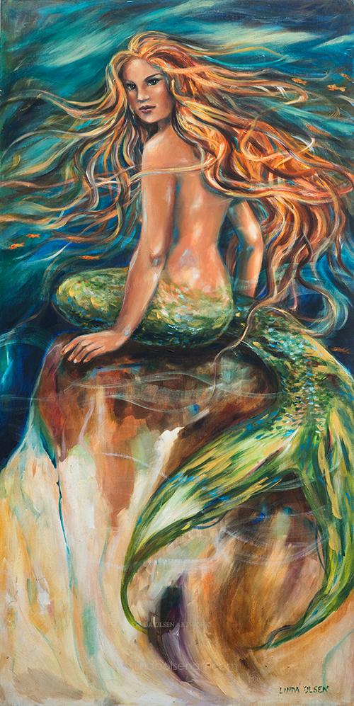 Shana Mermaid 24x48x