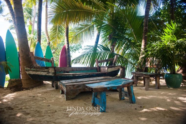 Morada Bay boat bench