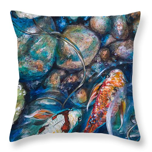 Now offering artwork on pillows!! Inquire at lindaolsenart@gmail.com