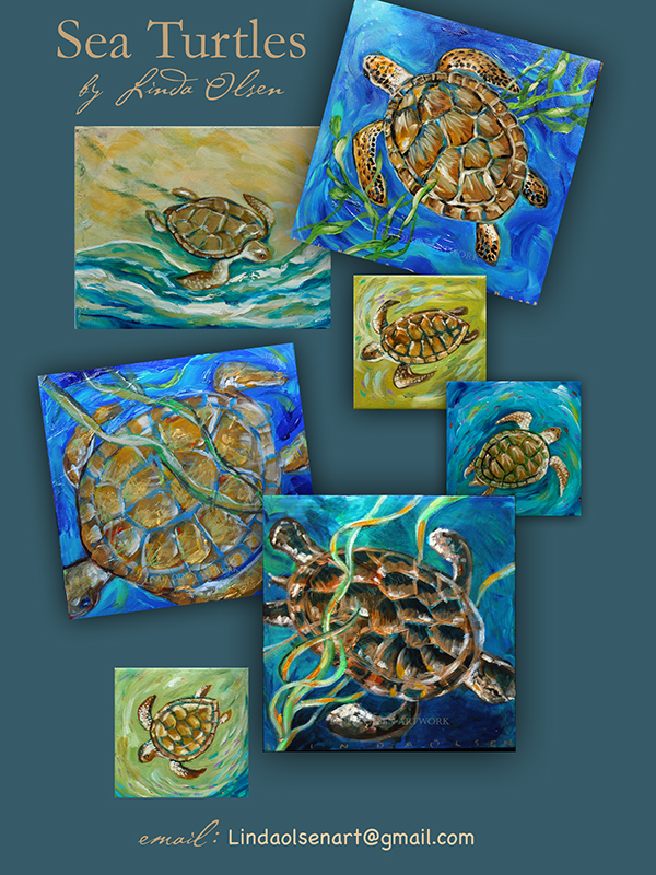 sea turtle paintings