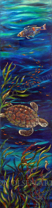 Sea Turtle passage15x60