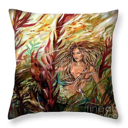 seaweed-mermaid-pillow-linda-olsen