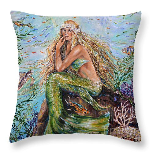 sunshine-mermaid-pillow-linda-olsen