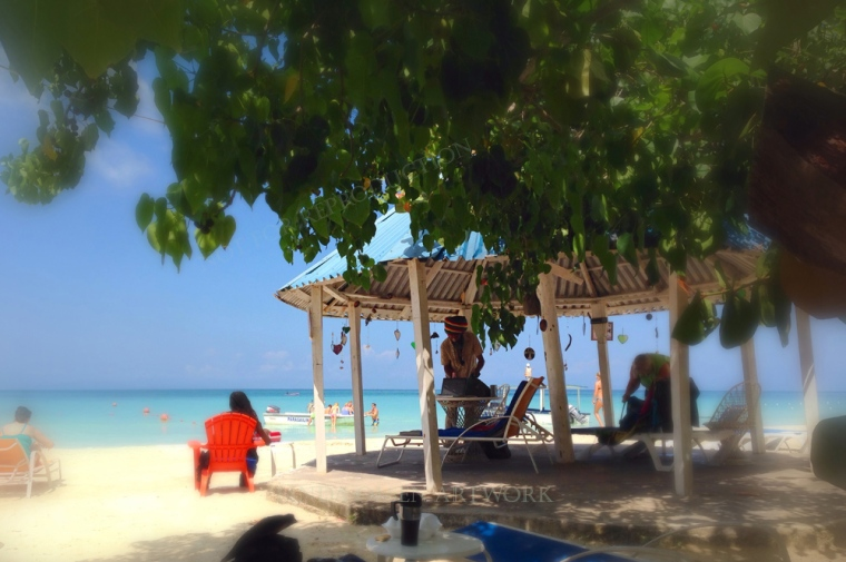 Negril,  Jamaica was visually inspiring. The people were wonderful, jerk chicken the best and smiles broad.