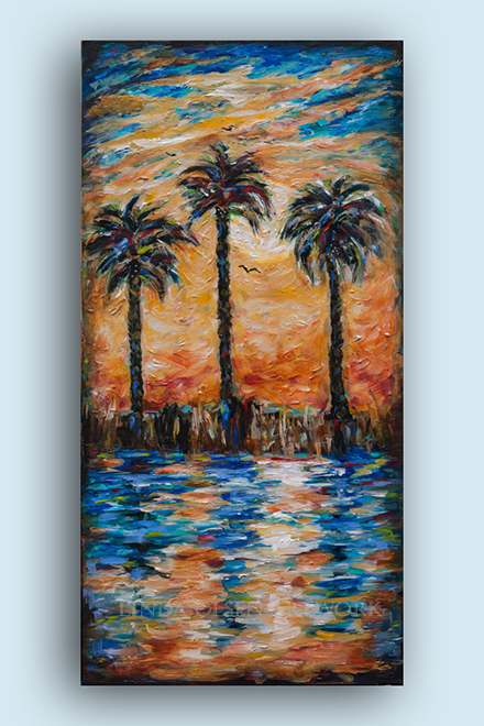 End of the Day b 18x36