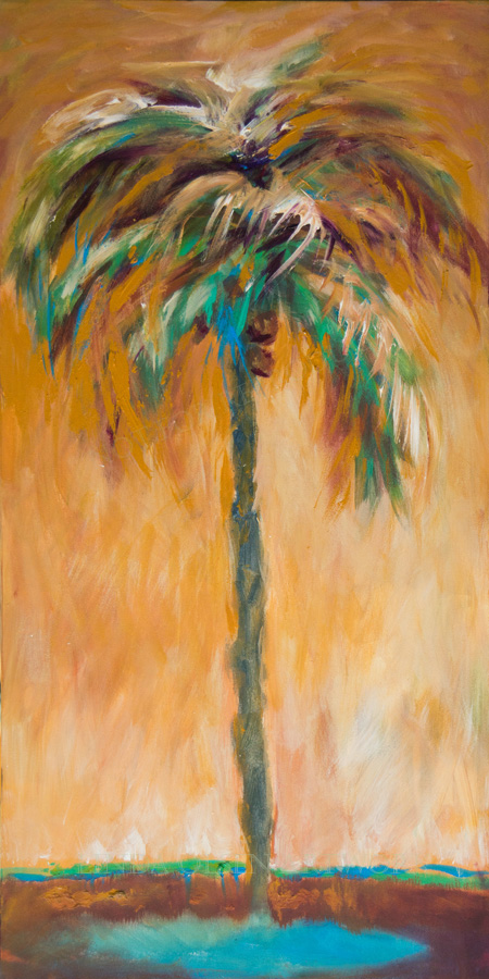 October Palm 15x30