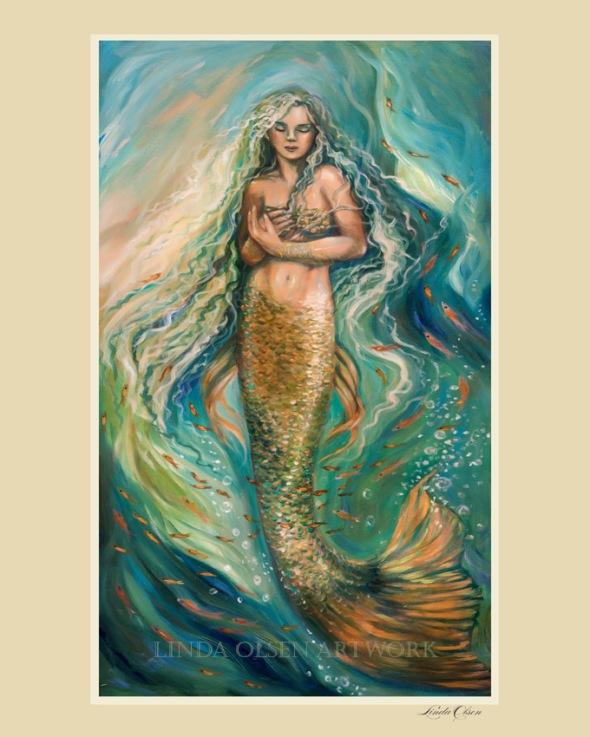 Slumbering Mermaid
