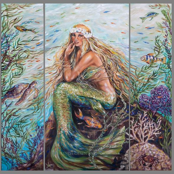 Sunshine Mermaid t