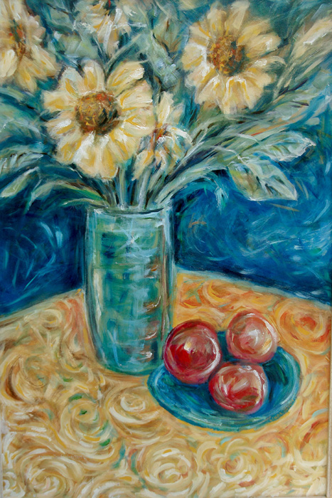 sunflower & Apples24x36