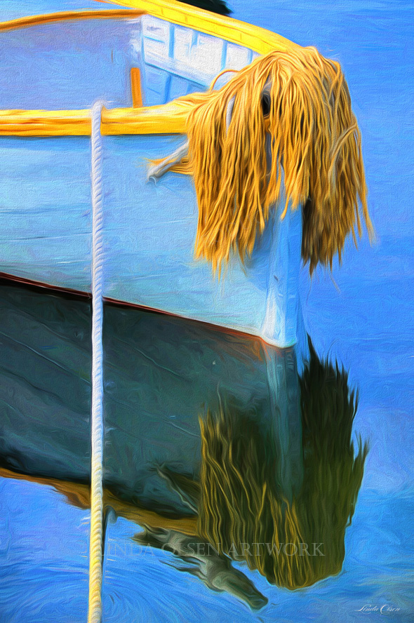 reflection dingy pastel