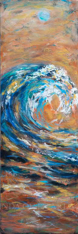 Wave Thin Sunset 10x36