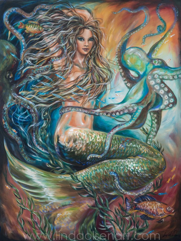 https://youtu.be/8BvG7nnMRQY Making a slideshow of my underwater and mermaid paintings help me to understand my own growth as an artist and see my own work in another format. DO this of your paintings?