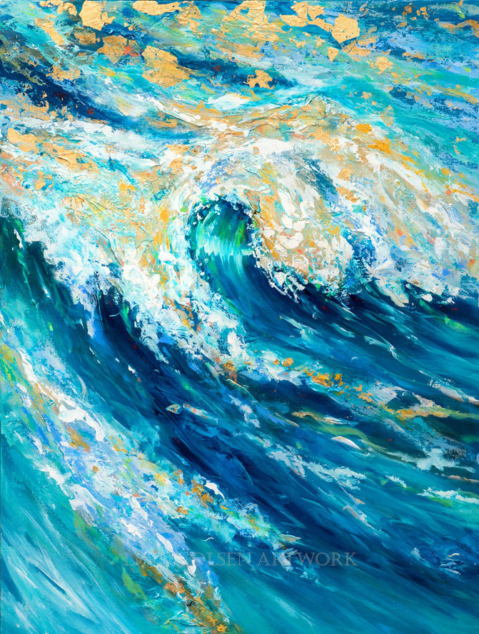 Enticing Wave 30x40