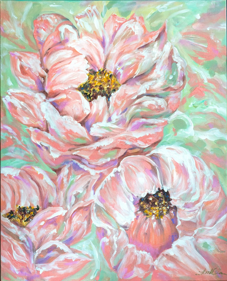 Flowers for Gigi 24x36