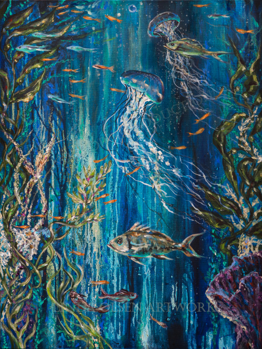 Coral Reef 30x40s