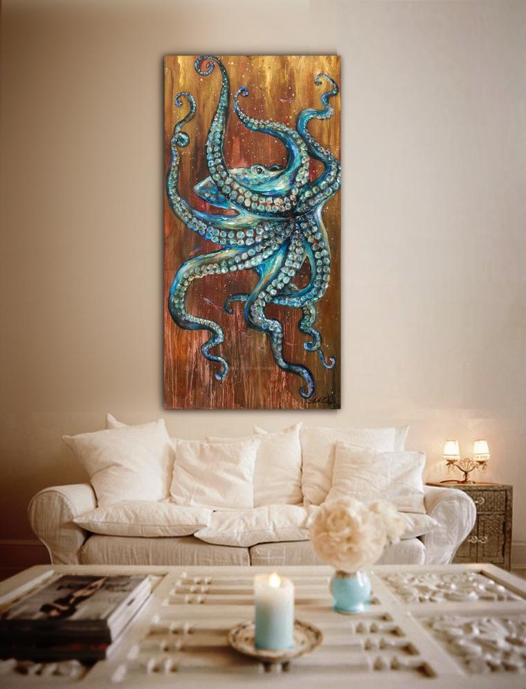 octopus wall