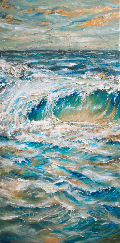 Obviously the ocean brings me joy and I have been working VERY hard to capture the movement and flow of the tides. Some of these were done in 2015 and some this year. A salt life!! Bring a little seaside into your home?