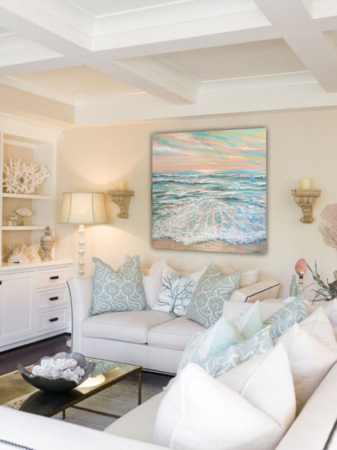 calm sea decor