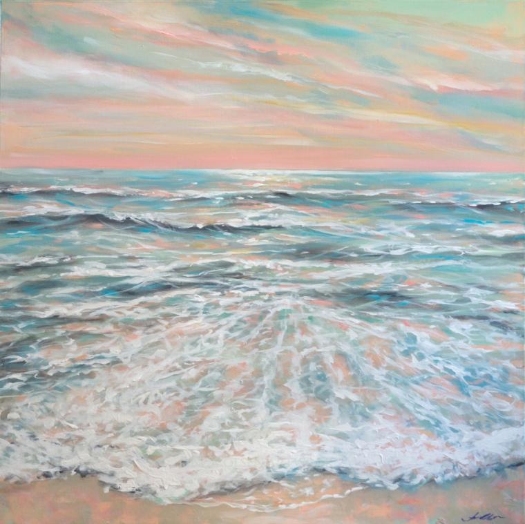Calm Seas 36x36