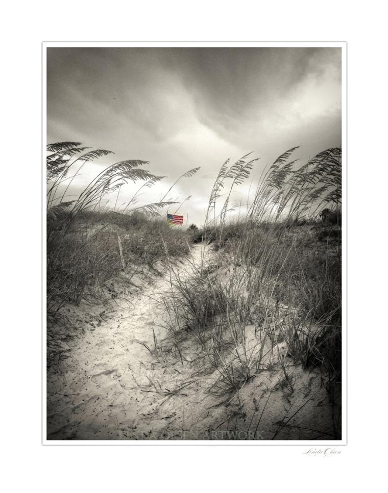 Dunes walk sep flag2