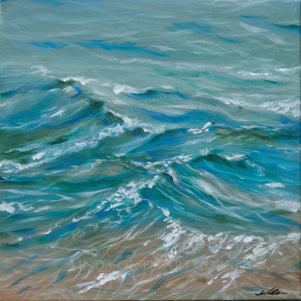 Edge of the Tide 14x14