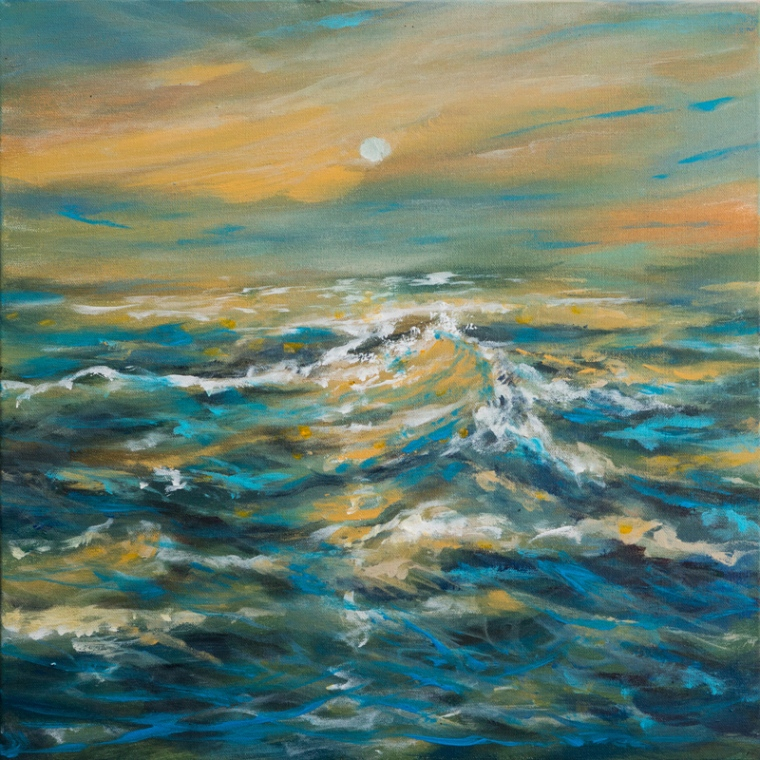 Golden wave 20x20