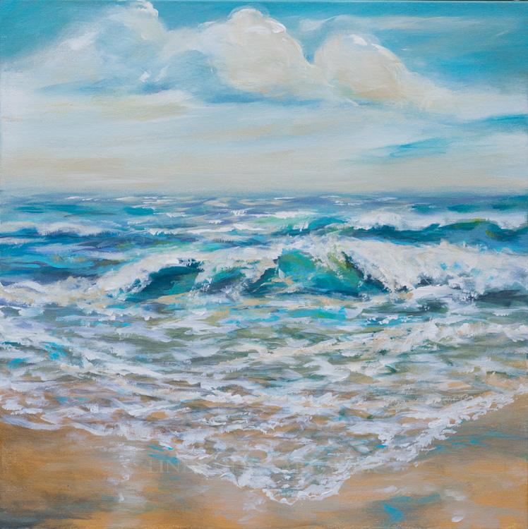 Summer Surf 24x24