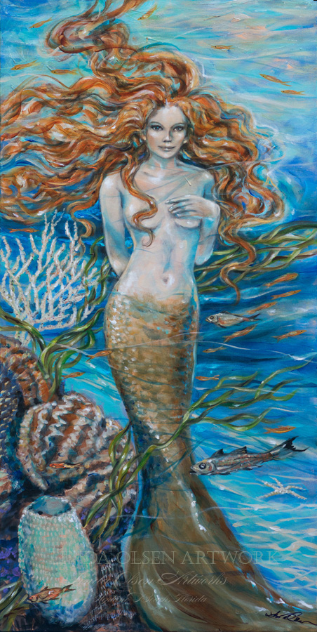 Lorelei Mermaid 24x48a