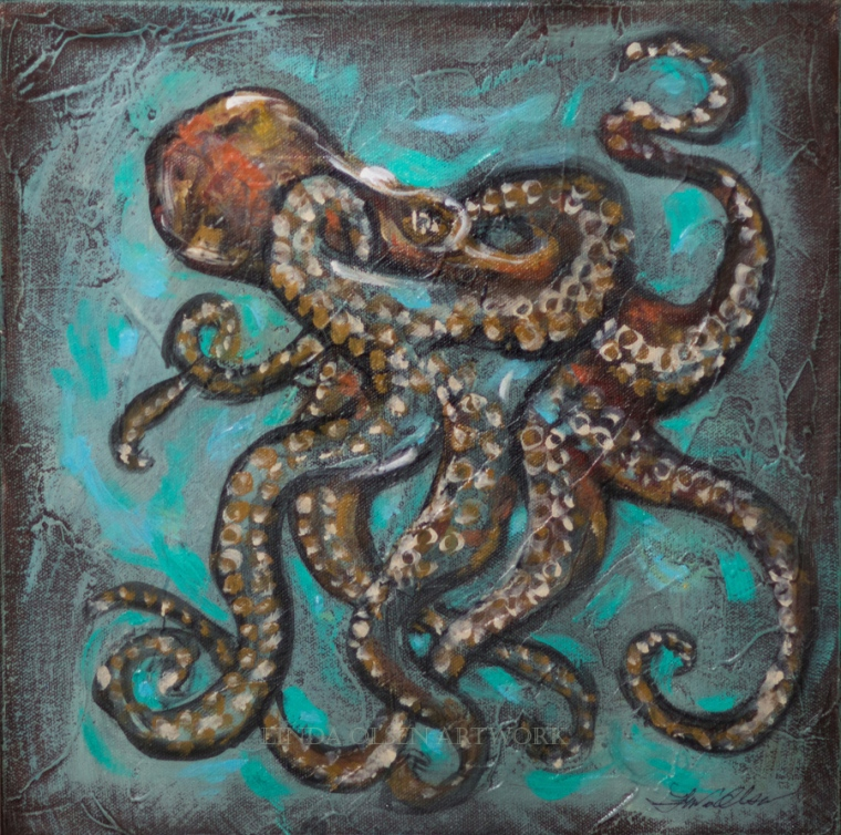 Octopus Copper 14x14