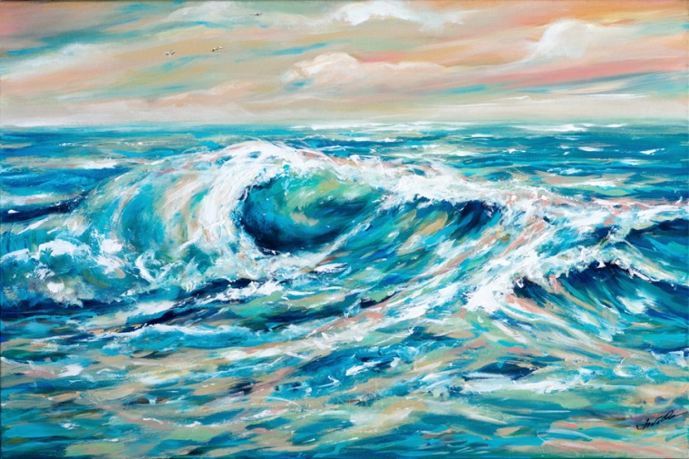 Rough Seas 36x24